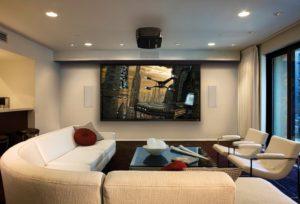 Купить домашний кинотеатр с проектором IntelHome. Доставка по Украине