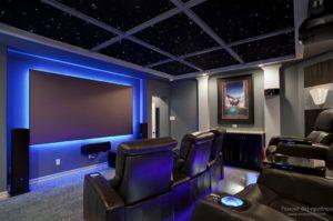 домашний кинотеатр освещение