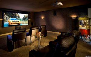 встроенный домашний кинотеатр