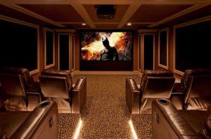 домашний кинотеатр подсветка