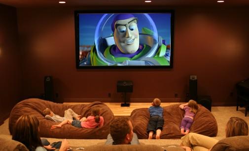 Домашний кинотеатр семья