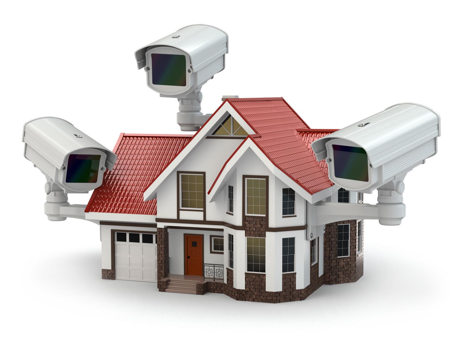Установка видеонаблюдения в доме 78