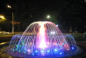 Интерактивный фонтан