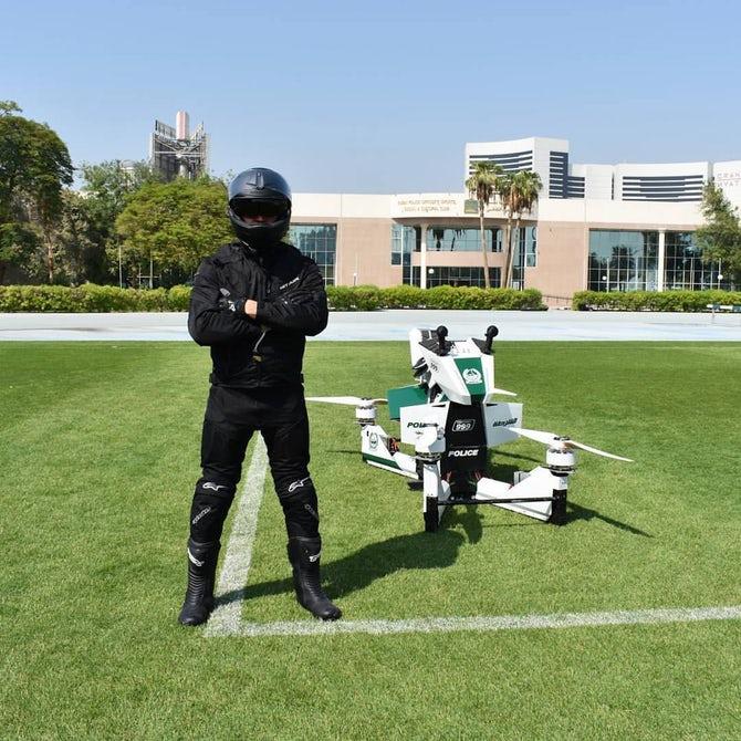 Ховербайк Дубаи полиция